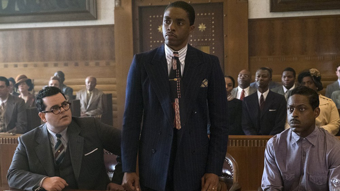 REVIEW: 'Marshall' a compelling civil rights film about the Supreme Court justice, but not kid-friendly